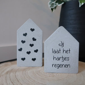 Huisjes set Quote